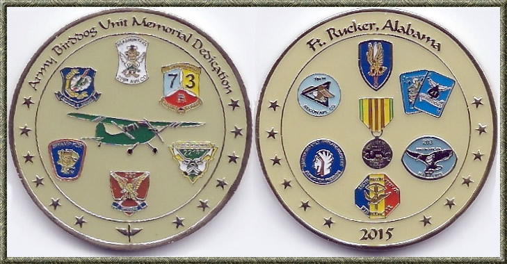 All-Birddog Unit Memorial Challenge Coin, 2015