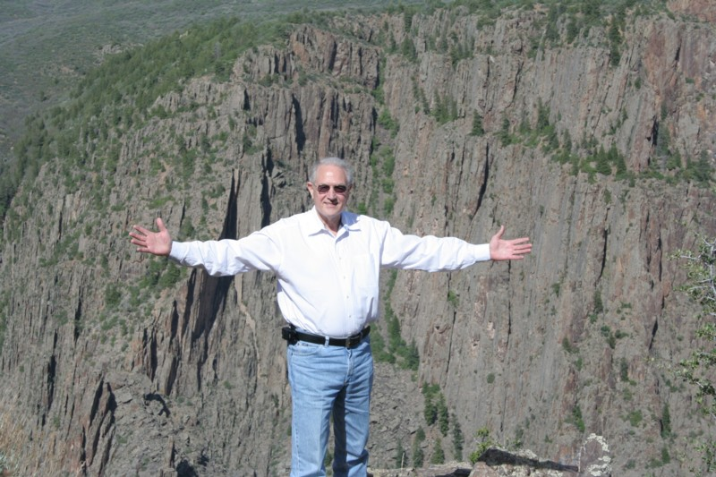 Donald M. Ricks, Black Canyon of the Gunnison national Park, May 2006