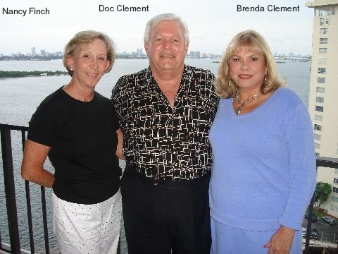 Nancy Finch, Doc Clement, and Brenda Clement