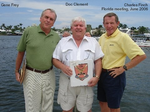 Gene Frey, Doc Clement, and Charles Finch