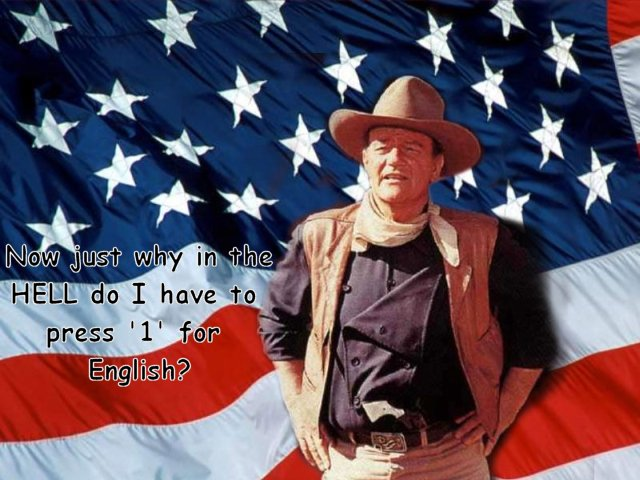 John Wayne graphic (author unknown)