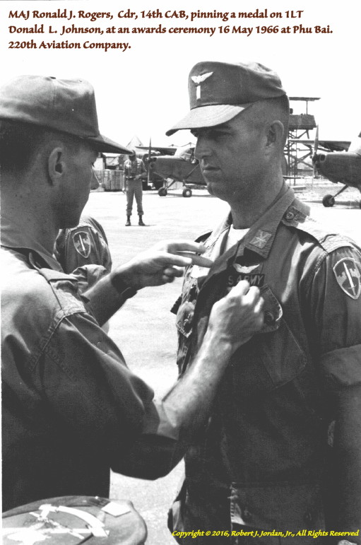 1LT Bob Jordan photo, Vietnam