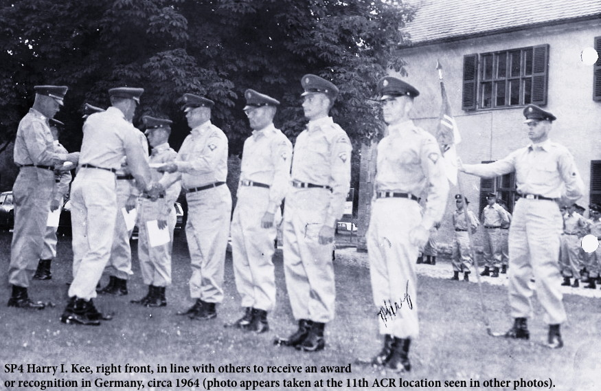 Unit ceremony, circa 1964