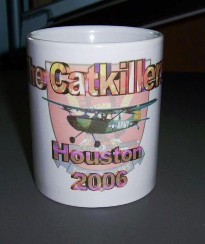 Reunion coffee cup, available from Leon Skeen