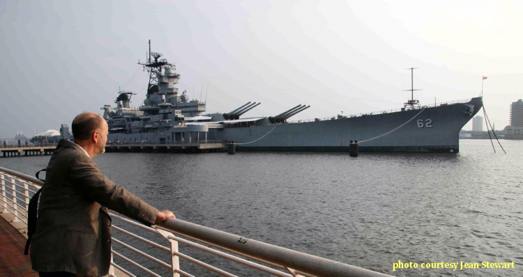 Revisiting the USS New Jersey