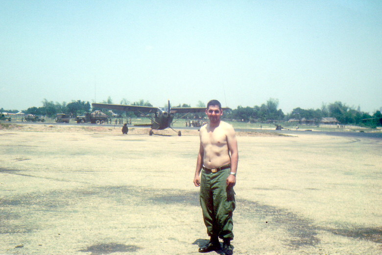 courtesy Marcus Mitchell, 183rd Avn Co: Quang Ngai Airfield, 1st Platoon personnel, pre-July 1966