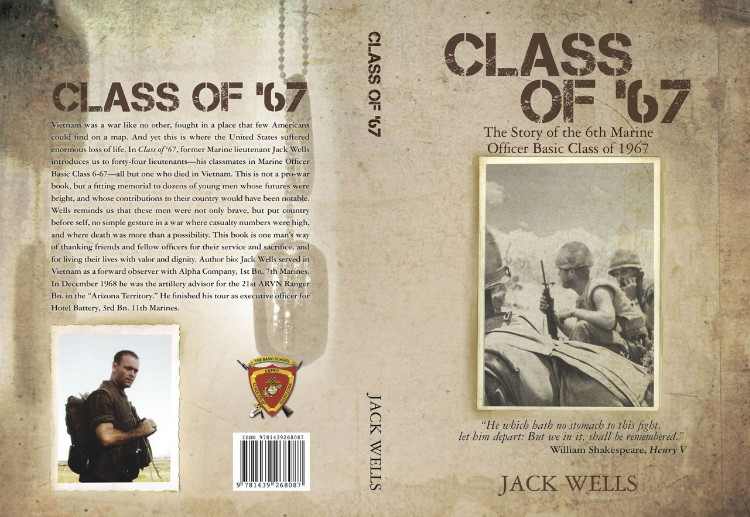 Front and back Cover, Class of 67, by Jack Wells