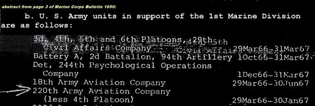 220th Aviation Company
